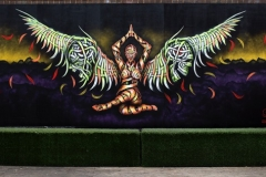 Two face Angel- Shoreditch 2015