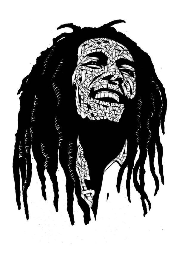 Drawings.Bob Marley (OG)