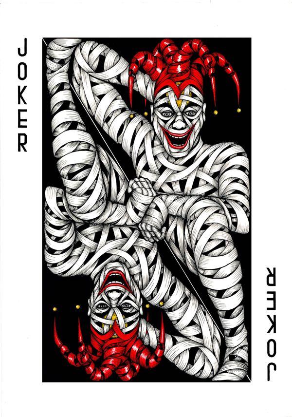 Drawings.Joker Card