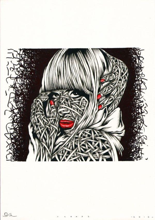 Drawings.Lady Gaga