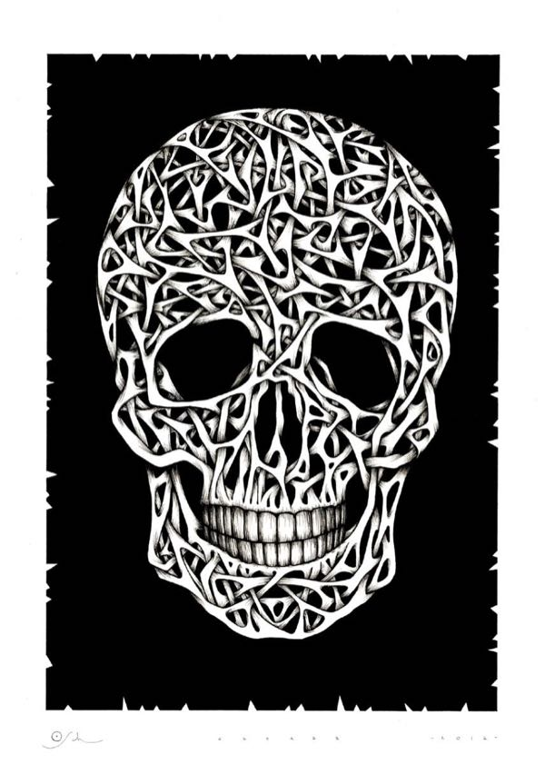 Drawings.Skull 2