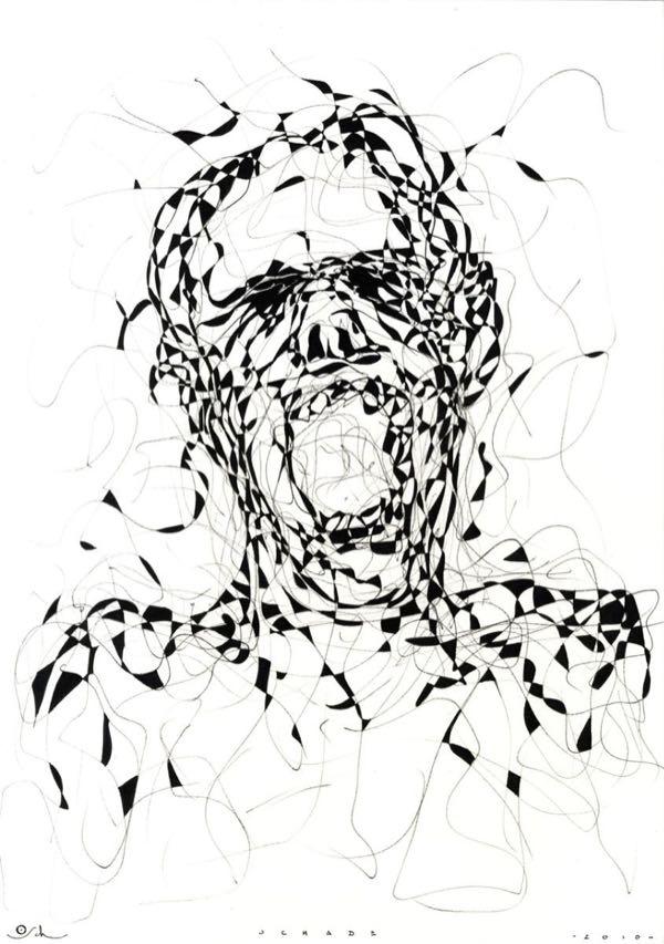 Drawings.The Scream
