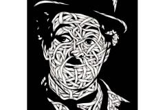 Drawings.Charlie Chaplin