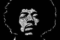 Drawings.Jimi Hendrix