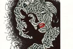 Drawings.Marilyn Monroe