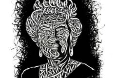 Drawings.Queen Liz