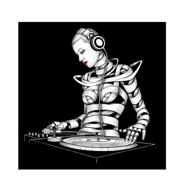 Giclee_Print.Maya DJ