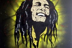 Giclee_Print.Bob Marley green