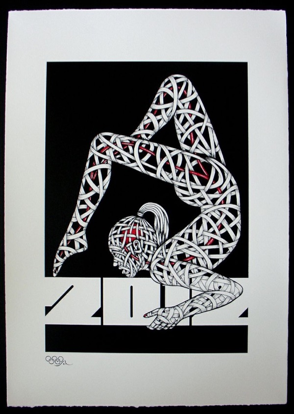 Silk_Screen_Print.Gym Balance 2012