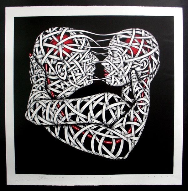 Silk_Screen_Print.Sweet Heart