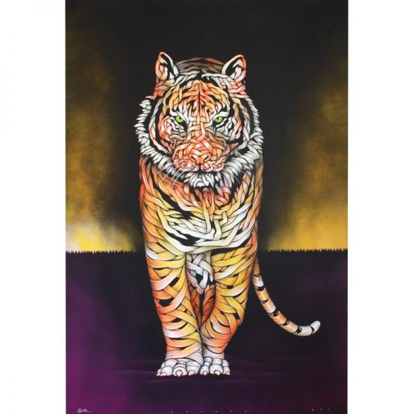 product_Otto_Schade_Tiger_Threat_Unique_Canvas_150x100cm