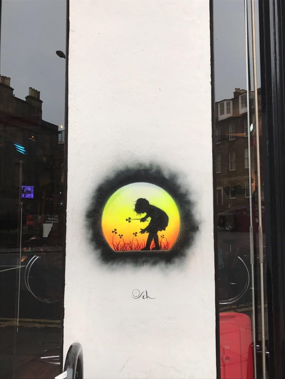 New artworks in Edinburgh