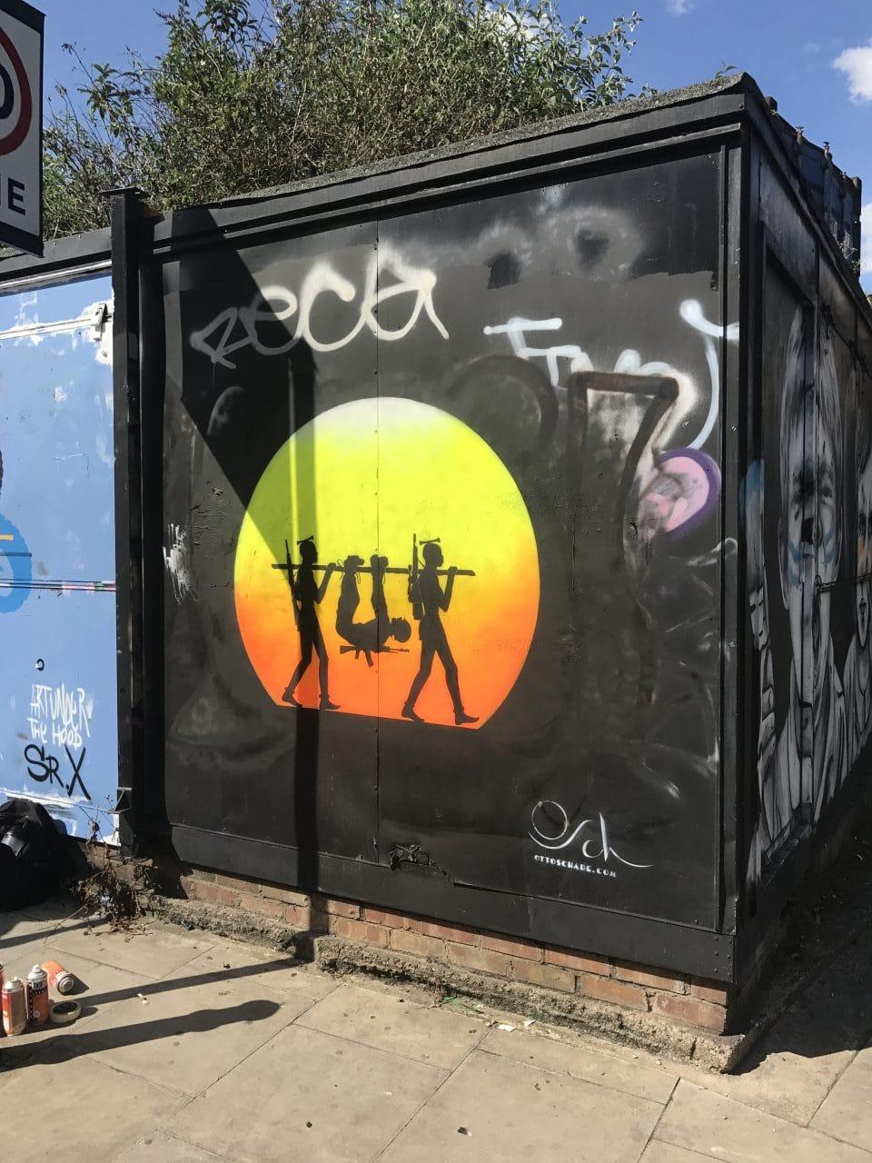 """New street artwork """"Better Choice"""""""