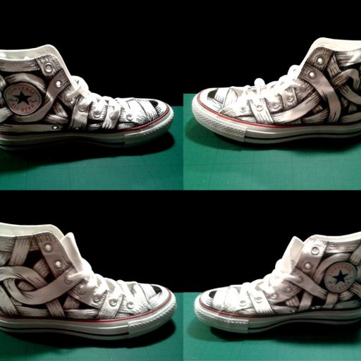 Otto_Schade_Converse_Shoes_customised