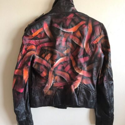 Otto-Schade-Galaxo-Girl-spray-painted-leather-jacket